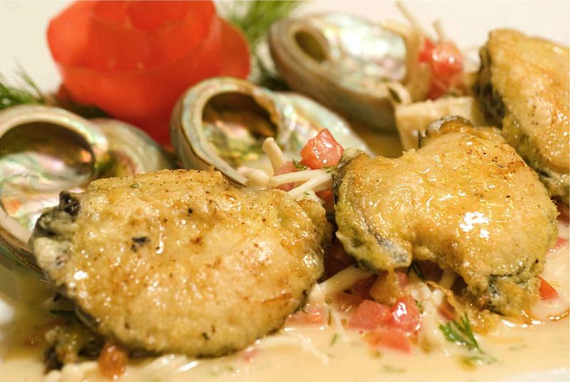 Abalone Cooked