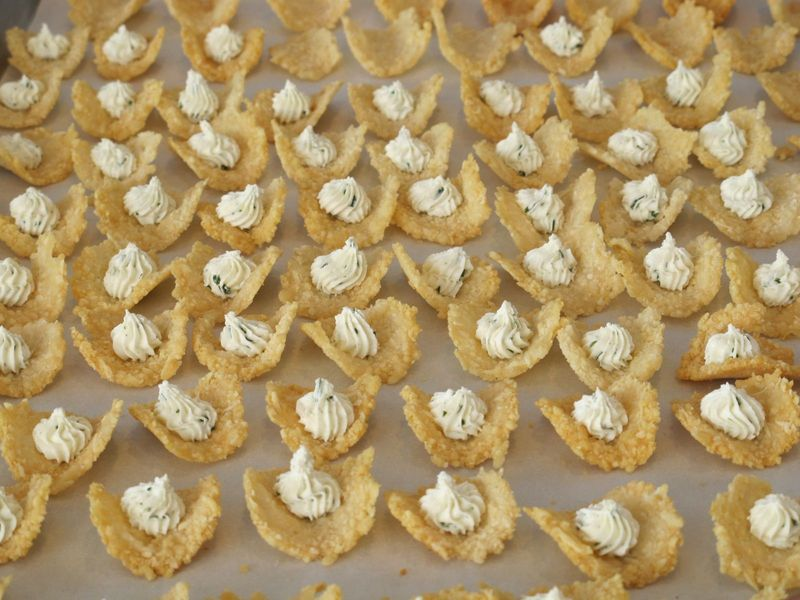 Canapes frico