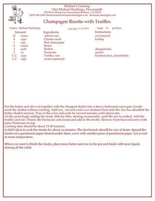 Risotto Recipe 2