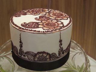 Henna Cake Theme Cooking On The American Riviera Santa Barbara