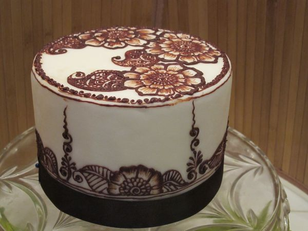 Henna Cake Theme Cooking On The American Riviera Santa Barbara