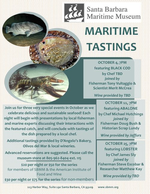 Maritime tastings flyer draft