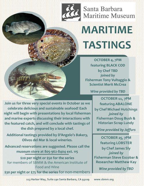 Maritime tastings flyer draft