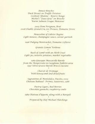 Aaa menu
