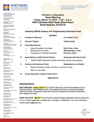 March 13 2015 Board Agenda copy
