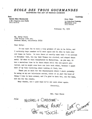 Julia Child Letter Pounder copy