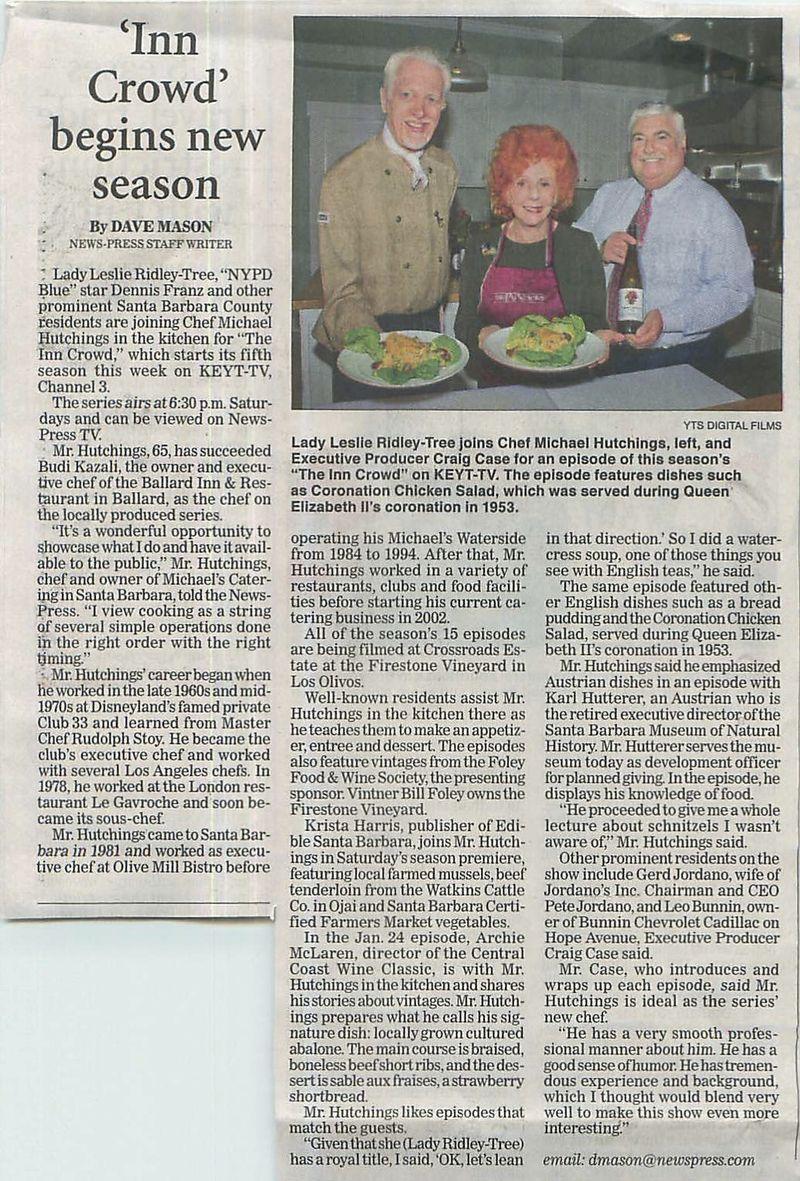 The Inn Crowd Article News Press copy