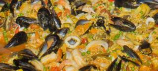 Paella Closeup