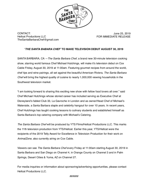 The Santa Barbara Chef Press Release (3) copy 2