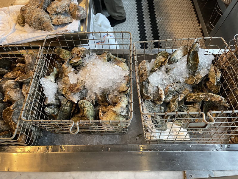 Oysters in Baskets